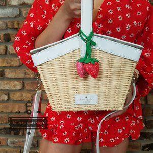 Kate Spade PICNIC IN THE PARK Picnic Basket Cream
